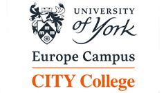 CITY College, University of York Europe Campus Logo